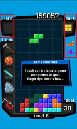 Tetris®:「Hold」機能やブロック予告は初心者から上級者まで楽しめる要素