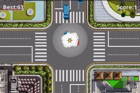 Traffic Rush:正しい判断と操作で衝突事故を防げ