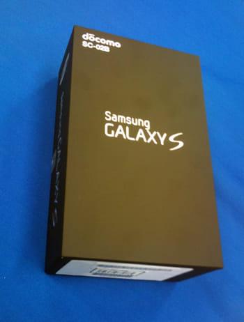 GALAXY S外箱