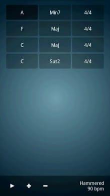 ChordbotLite:高性能簡易シーケンスアプリ、思い通りの音を奏でてくれる