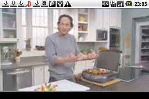 iFood Assistant by Kraft:動画で調理方法を確認