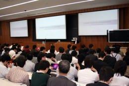 11月定例イベント開催。会場は満員に近い状況となった