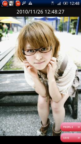 メガネ美人 by 京都美少女図鑑02