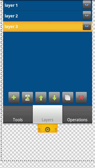 Canvas Pro:レイヤー操作の基本的な機能がそろうLayerタブ