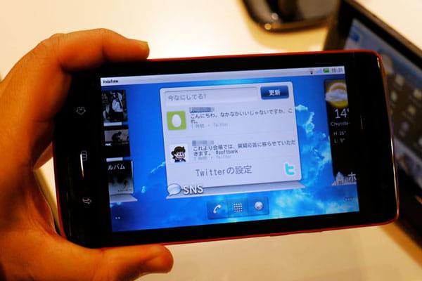 「大きなスマートフォンでもあり、小さなタブレット」と評される、デルが手がけた「DELL Streak 001DL」