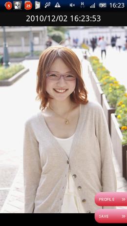 メガネ美人 by 福岡美少女図鑑03