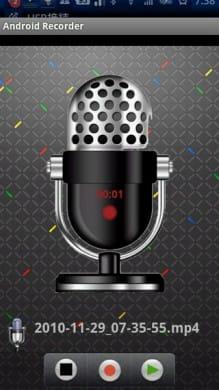 Android Recorder:きれいなUIのボイスレコーダー