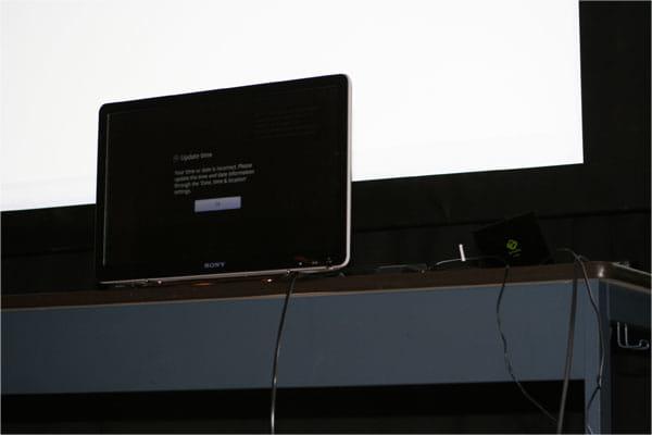 Google TV、Apple TV、Boxee Boxの展示・デモも行われた
