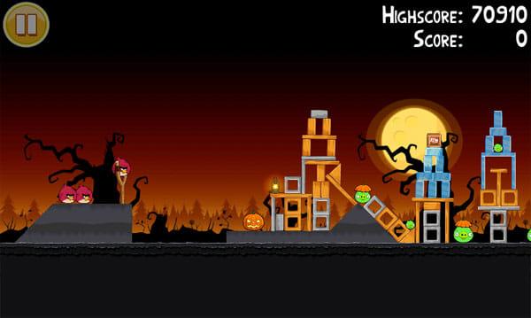 Angry Birds Seasons:パワーのある赤く太った鳥
