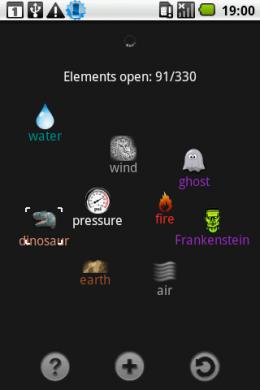 Alchemy: 2つのelementを組み合わせて、新しいelementを錬成しよう!