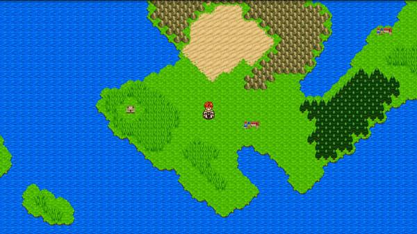 RPGシンフォニーオブエタニティ:RPGではおなじみの2Dマップを採用