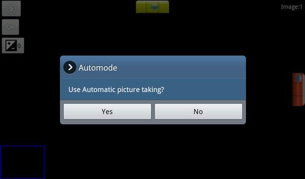 Photaf Panorama Pro:自動で写真撮影してくれるオートモードが便利