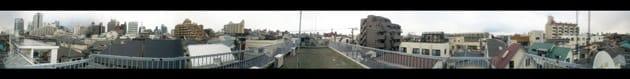 Photaf Panorama Pro:撮影・合成された画像。360度が一目で見られる