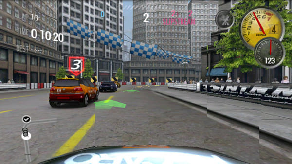 NEED FOR SPEED™ Shift:ゲーム画面