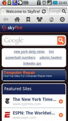 Skyfire Web Browser 4.0