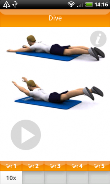 VirtuaGym Fitness Home & Gym:姿勢やポーズがわかりやすい