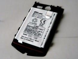 G'zOne IS11CAのバッテリーは1,460mAh。通常のケータイ電話よりも多めですが…