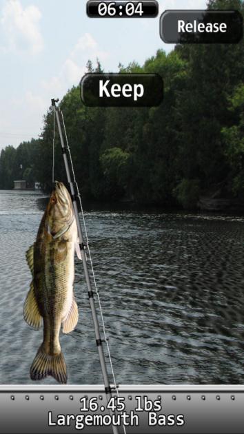 i Fishing:魚をゲット!