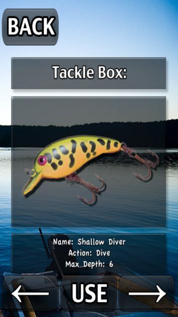 i Fishing:ルアーを変更