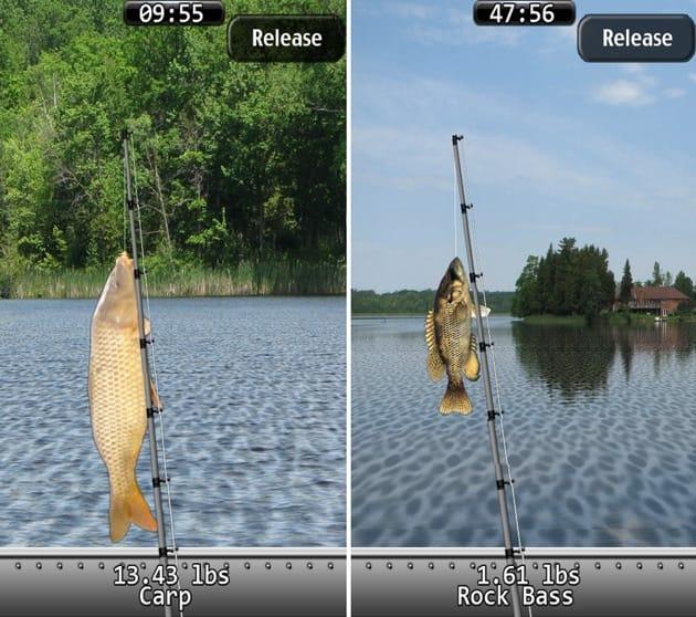 i Fishing:湖によってゲットできる魚も変化