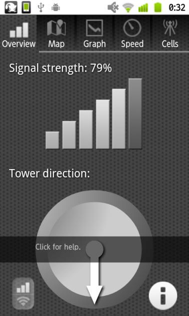 オープン信号マップベータ版:「Overview」画面
