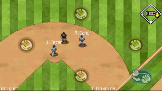 9 Innings: Pro Baseball 2011:守備はオートで行われる
