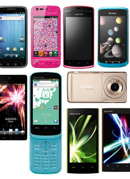Android搭載端末一覧!~ソフトバンクモバイル編~(2011.6 – 2012.3)