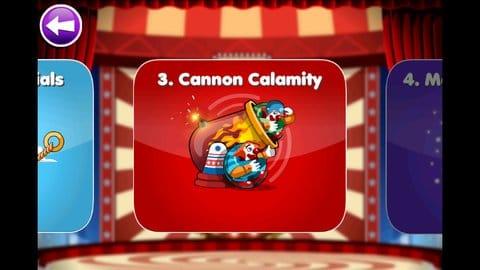Clowning Around - Puzzle Game:ステージは全部で75。修業を積んで一人前のピエロになろう