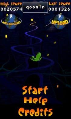 Acrobat Gecko Halloween:世界ランキングの登録も可能!