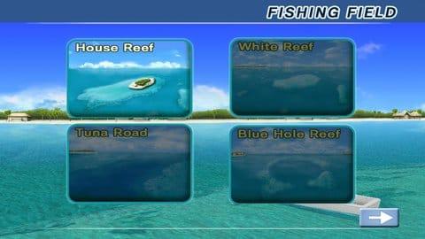 エキサイト ビッグフィッシング:4つの美しいマップで釣りを楽しもう