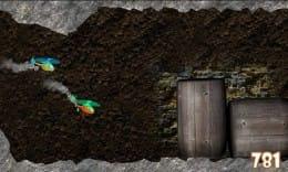 Copter It!:2機のヘリを別々に操作しながら洞穴をつき進め!