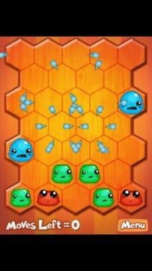 Blob Blast:連鎖が起こりだすと勝手にパズルが解けていく