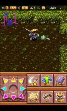 風来のシレン 虹の迷宮録:シレンを操り、ダンジョンに潜りまくれ!