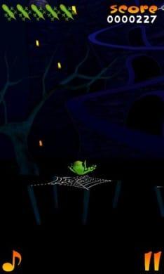 Acrobat Gecko Halloween