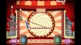 Clowning Around - Puzzle Game:ピエロボールは同じ色のタルに入れなくてはいけない