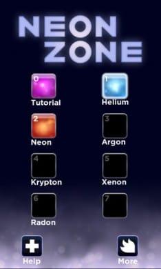 Neon Zone:全てのステージを制覇出来るか?!