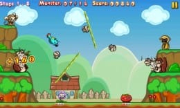 Fruit Heroes Lite:多彩なモードが搭載されている。