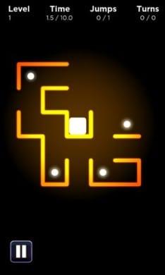 Neon Zone:光の玉を集めよう!
