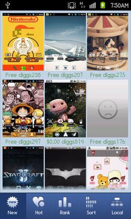 91 Pandahome Pro:テーマを選択してデザインを楽しむ