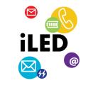 『iLED』~ロック解除する必要なし!不在着信やメールの有無が液晶画面上からひと目でわ...