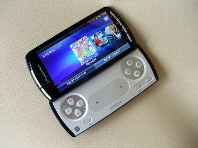 スライドキーパッドを開けてみると、PSP goにどことなく似てる