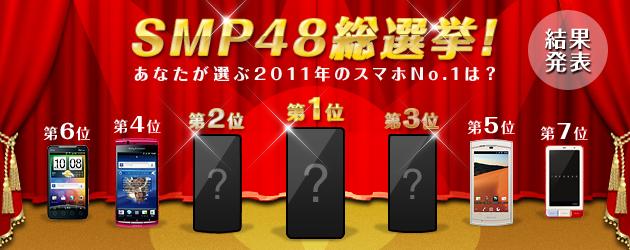 SMP48総選挙2011!結果発表
