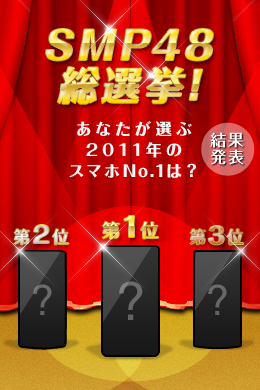 「SMP48」総選挙結果発表!センターの座は一体どの娘(機種)に!?