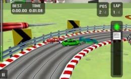 HTR High Tech Racing:快適!ワンタッチ操作!