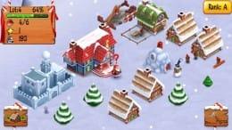 Santa's Village:可愛い街を作ろう!