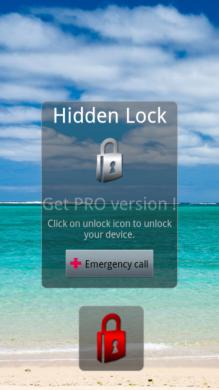 Hidden Lock