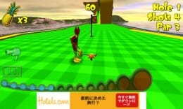 Tiki Golf 2 FREE:前作よりもコースが難しくやり応えアリ!