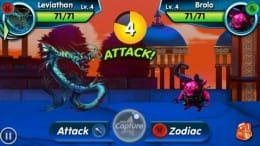 Monster Galaxy:様々なモンスターを育てて戦わせよう!