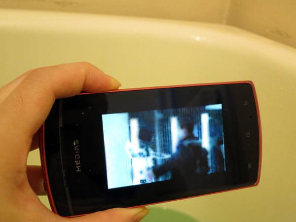 お風呂で動画も良い感じ!
