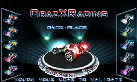 CrazXRacing Free:カッコいい車がたくさんあるぞ!
